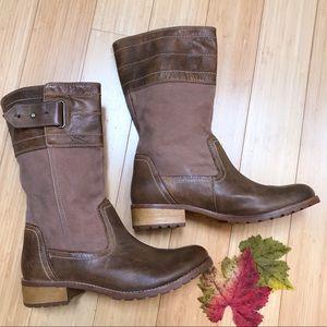 TIMBERLAND rugged boots, 9.5.